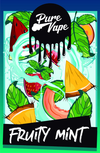 Pure Vape Fruity Mint