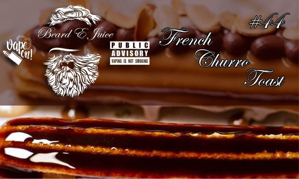 Beard eJuice Nº 44 French Churro Toast