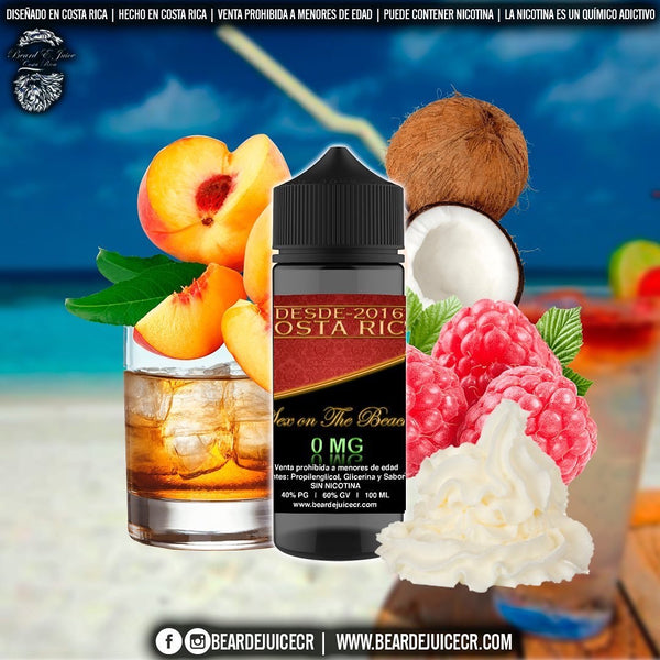 Beard eJuice No. 3 Sex on the Beach
