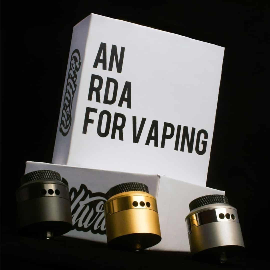 AN RDA for Vaping 24mm - Coilturd