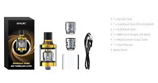 Base Reparable SMOK Spirals Flavor Sub-Ohm