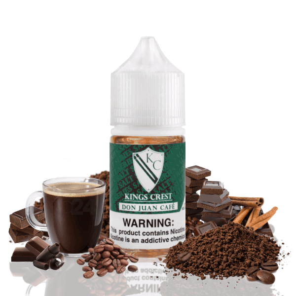 Don Juan Café Nic Salts 30ml - Kings Crest Reserve Premium