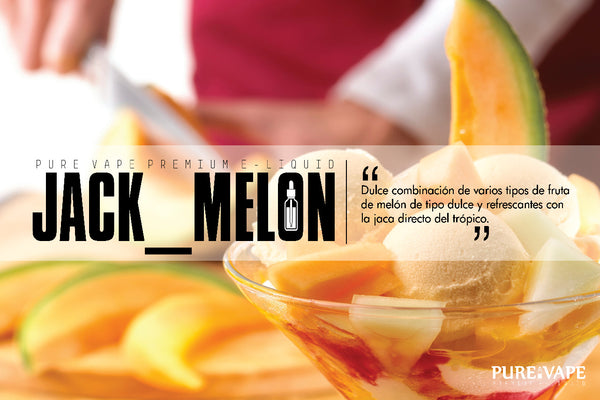 Nic Salt By Pure Vape Jack Melon 15 ml