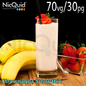 NicQuid Strawnana Smoothie - High VG