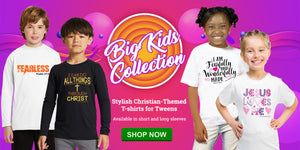 Christian Themed Clothing & Accessories For Kids