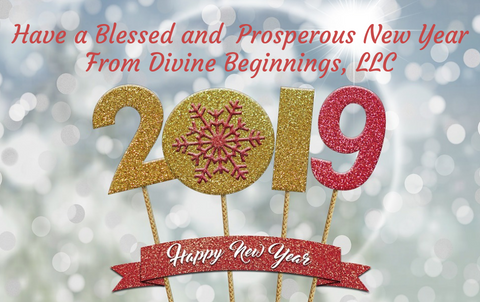 happy new year from Divine Beginnings