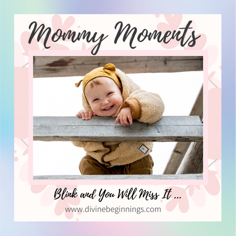Mommy Moments Cover Post for May 28, 2021 features cute and happy little boy smiling.