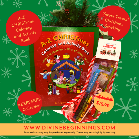 A-Z CHRISTmas Coloring and Activity Book