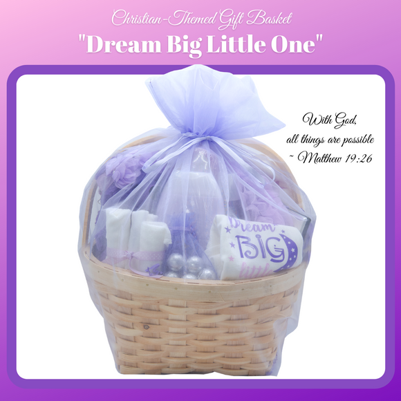 Christian-Themed Gift Basket -