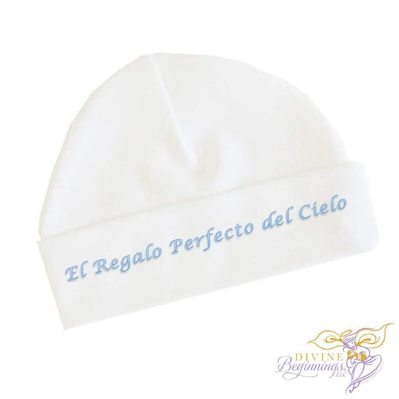 El Regalo Perfecto Del Cielo - Boys Baby Beanie Cap (Spanish) 0-3 Months Accessories