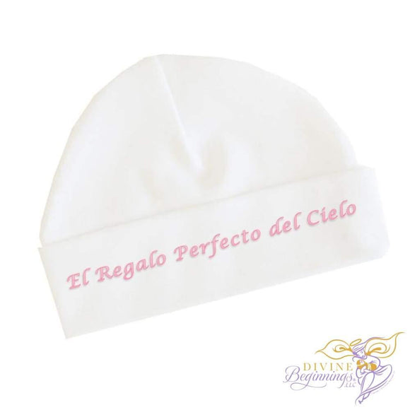 El Regalo Perfecto Del Cielo - Girls Baby Beanie Cap (Spanish) 0-3 Months Accessories
