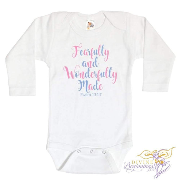 Fearfully And Wonderfully Made - Unisex Onesie Clothing