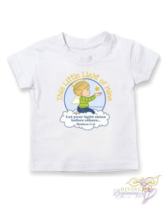 Just For Me Collection - This Little Light Of Mine Toddler Boys Short-Sleeve T-Shirt (Pick A Tee