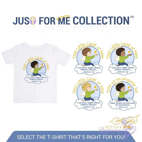 'This Little Light of Mine T-shirt' - Boys Toddler T-shirt - Divine Beginnings, LLC