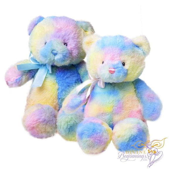 Sherbet Teddy Bear - Divine Beginnings, LLC