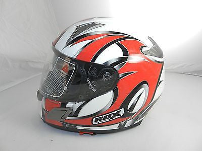 "Box BZ-1 ""Dragon/Red"" Full Face Motorcycle Helmet (size XL)"