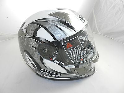"Box BZ-1 ""Dragon/Black"" Full Face Motorcycle Helmet (size S)"