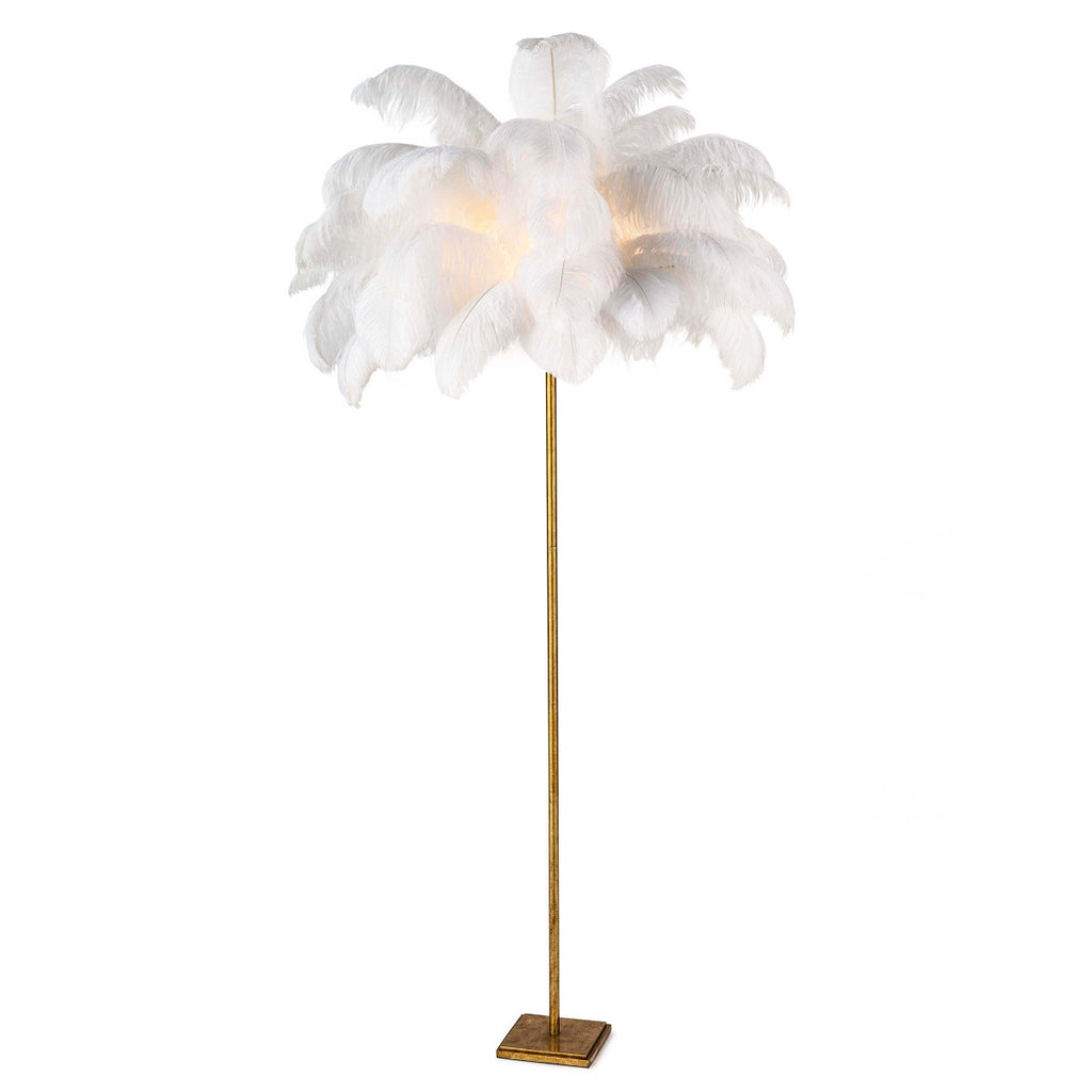 Josephine Feather Floor Lamp