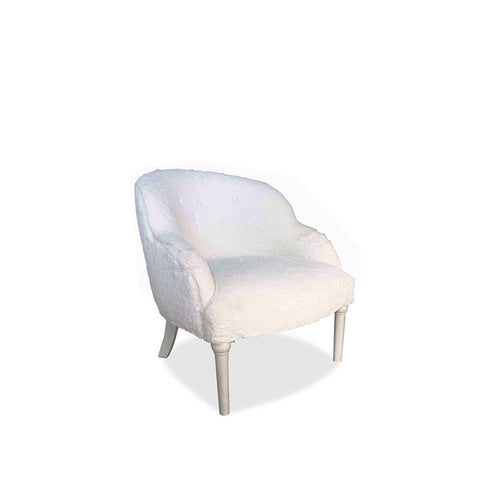 BABETTE VELVET ACCENT CHAIR