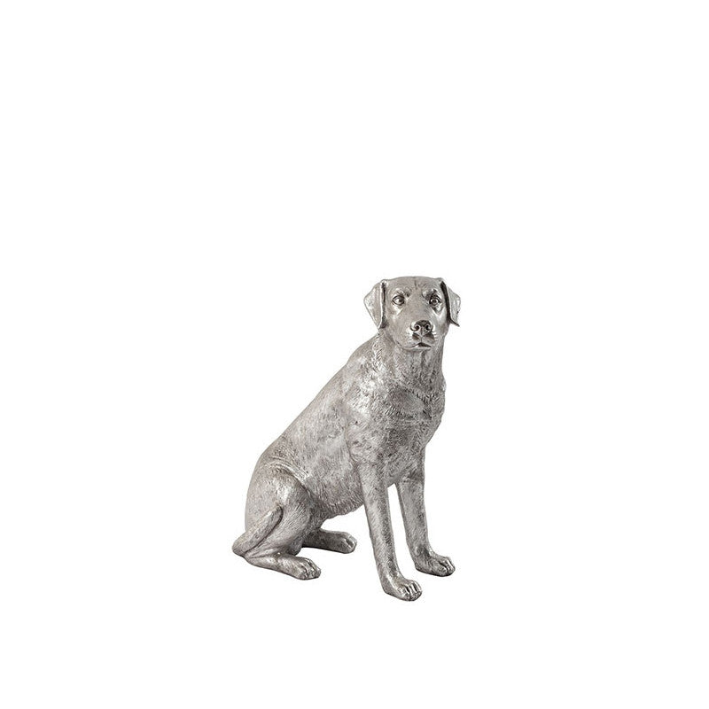 Labrador Dog Silver Leaf