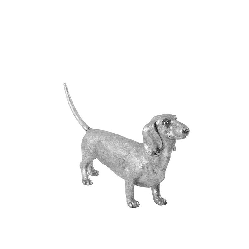 Dachshund Dog Silver Leaf