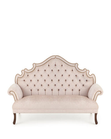 BRAXTON VELVET TUFTED SOFA