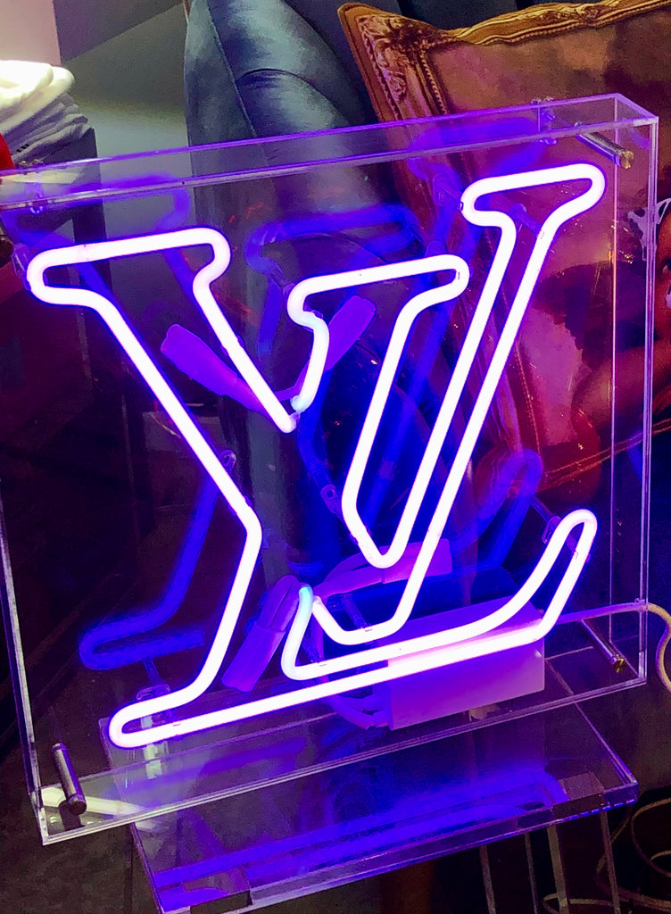LV Neon Sign