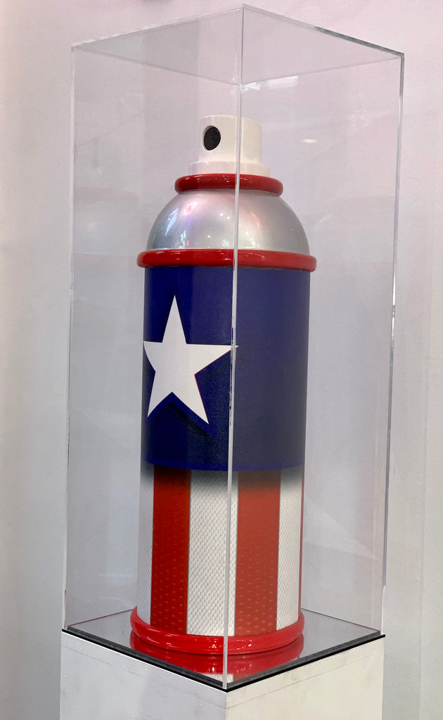 "SPRAY PAINT ""CAPTAIN AMERICA"", 2020"