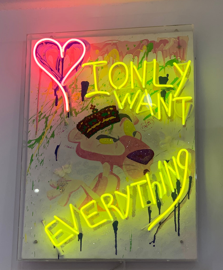 I Only Want Everything (Limited Edition 1 of 1)
