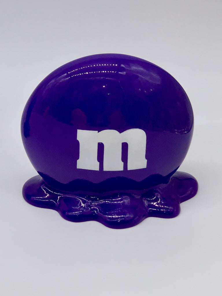 Purple M&M
