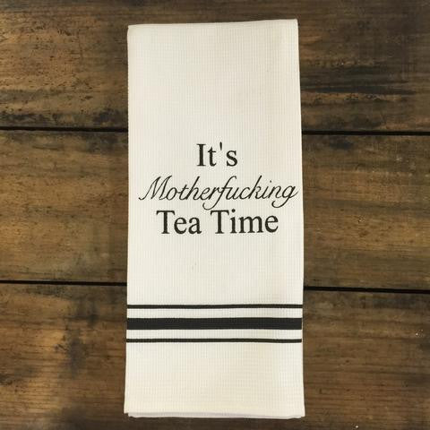 Motherfucking Tea Time Towel