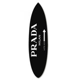 Milan Surfboard Black