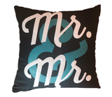 Mr & Mr Custom Pillow