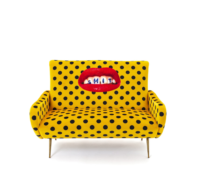 Seletti Sh*t Two Seater Sofa