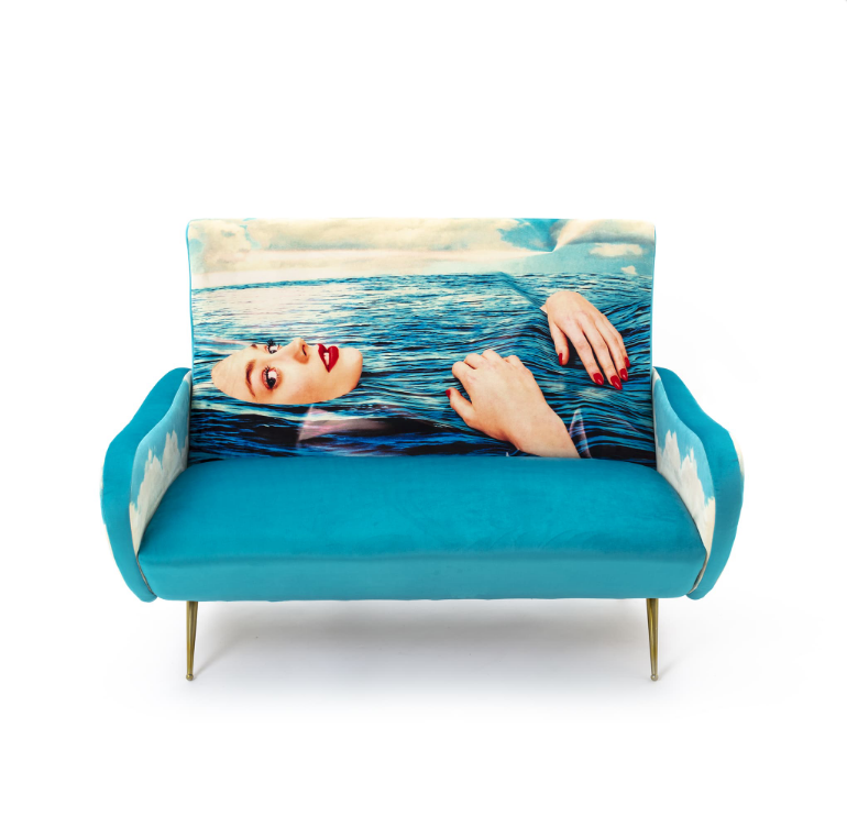 Seletti Sea Girl Two Seater Sofa