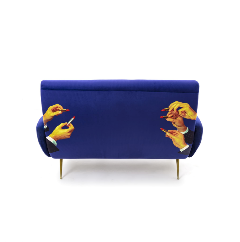 Seletti Lipsticks Two Seater Sofa