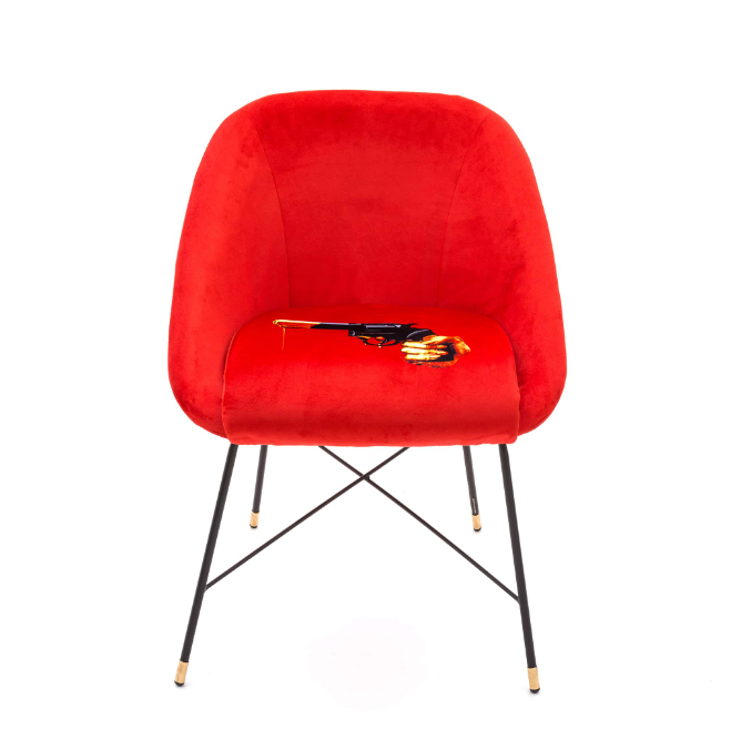 Seletti Revolver Padded Chair
