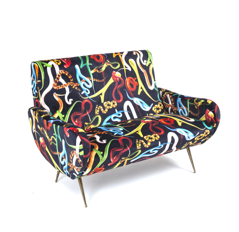 Seletti Snakes Two Seater Sofa