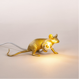 Gold Mouse Lamp Lop