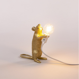 Gold Mouse Lamp Step