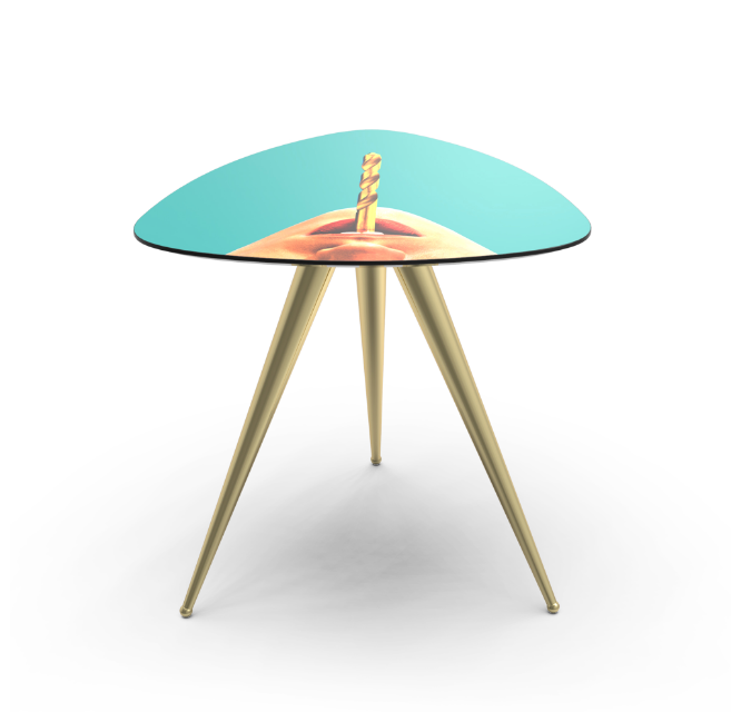 Seletti Drill Side Table