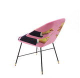 Seletti Lipsticks Padded Chair