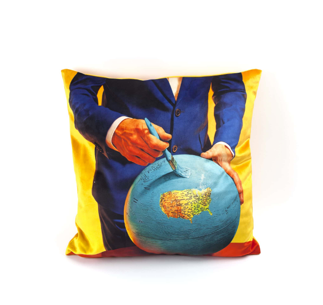Seletti Globe Cushion