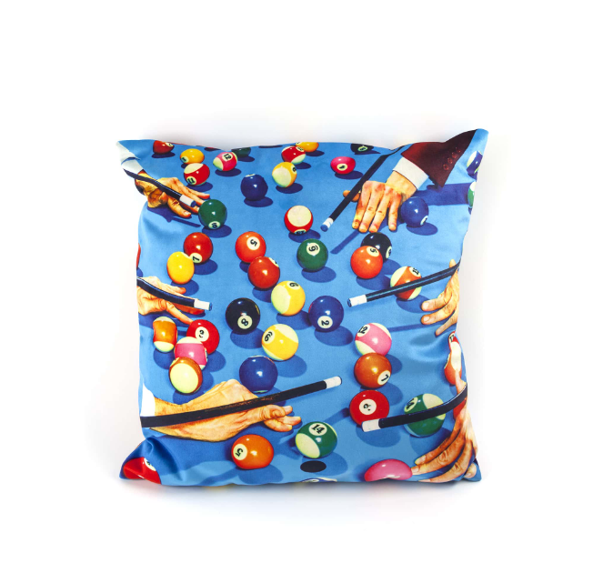 Seletti Snooker Cushion