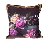Eye Heart Flowers Pillow