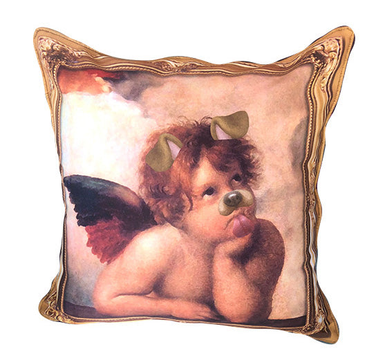 Angel Puppy Pillow