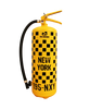 New York Taxi Fire Extinguisher