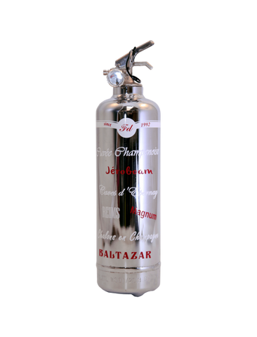Black Swiss Fire Extinguisher