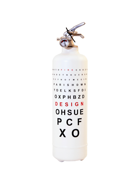 Eye Chart Fire Extinguisher