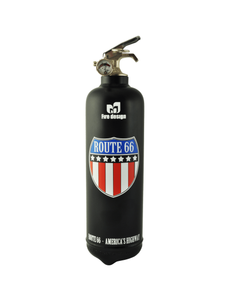 Route 66 Fire Extinguisher